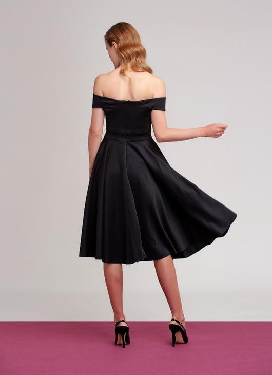 M By Mischa Black Garvey Dress