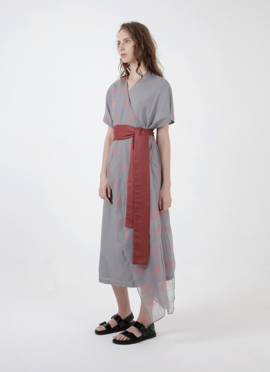 NOKI Gray Haruku Dress
