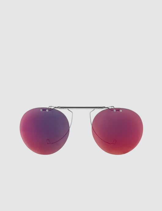 RANDOLPH P-3 Flip Set with Red Mirror Polarized Lens