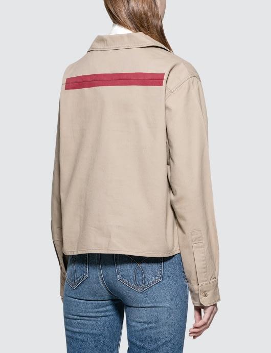Calvin Klein Jeans Wade Twill Crop Jacket