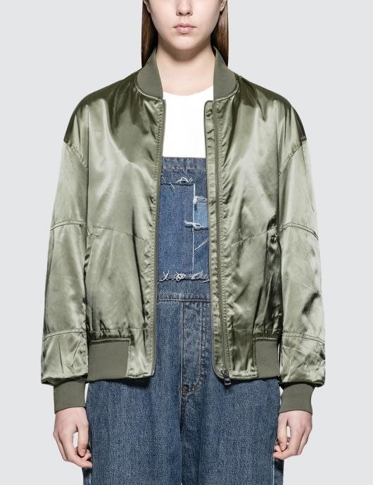 Calvin Klein Jeans Ona Sateen Bomber Jacket