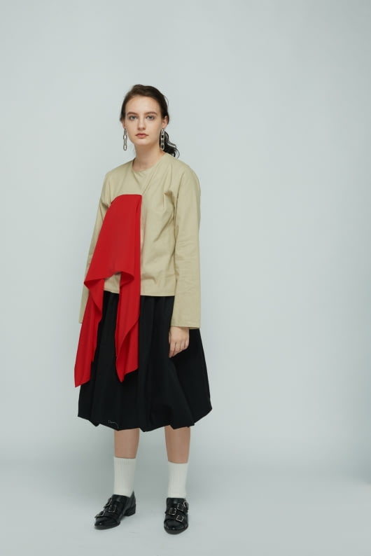 Shopatvelvet Multicolor Flap Top