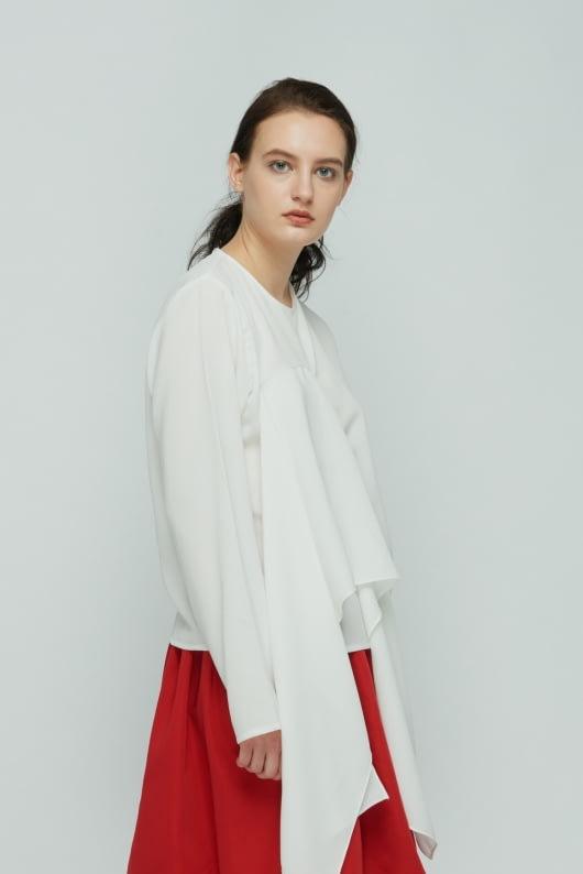 Shopatvelvet White Flap Top