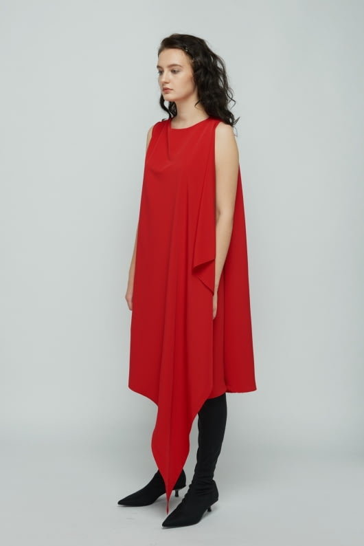 Shopatvelvet Red Temptation Dress