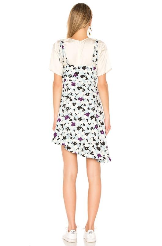 Kenzo Asymmetric Slip Dress