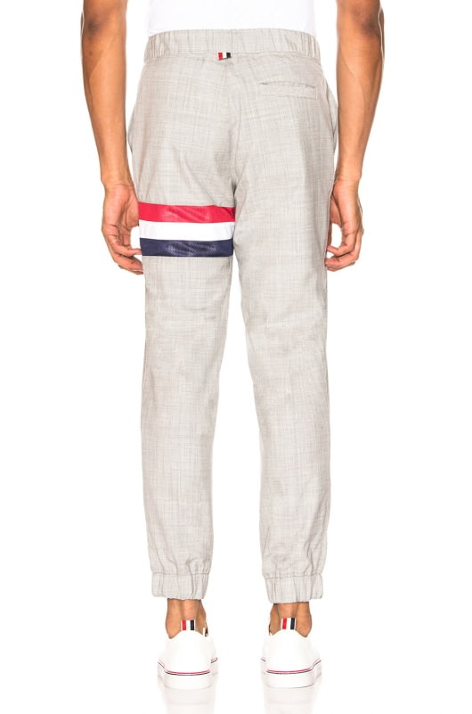 Thom Browne Striped Wool Sweatpants