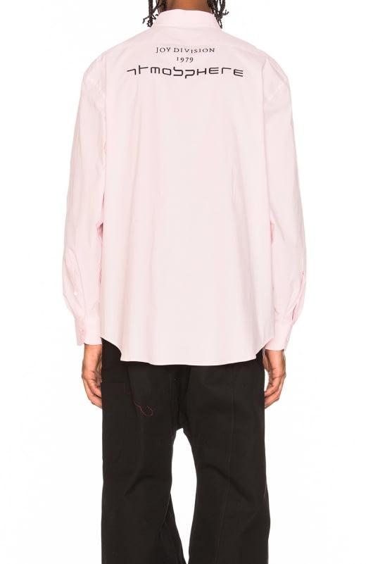 Raf Simons Oversized Embroidered Long Sleeve Shirt