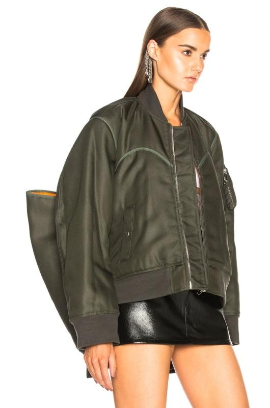 Helmut Lang x Shayne Oliver Four Sleeved Bomber Jacket