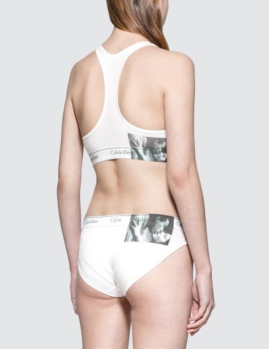 Calvin Klein Underwear Andy Warhol Unlined Bralette