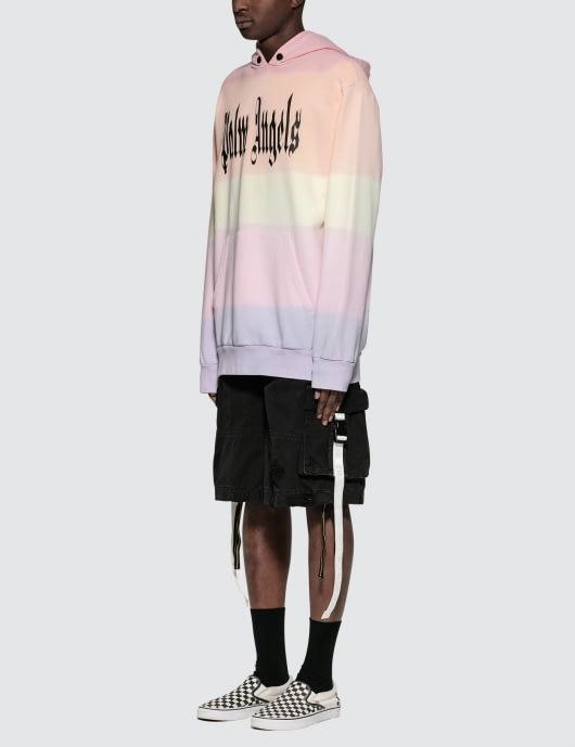 Palm Angels LG Gothic Rainbow Hoodie
