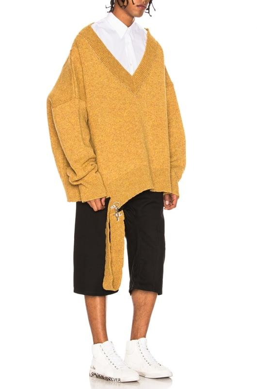 Raf Simons Fireman Buckle Sweater