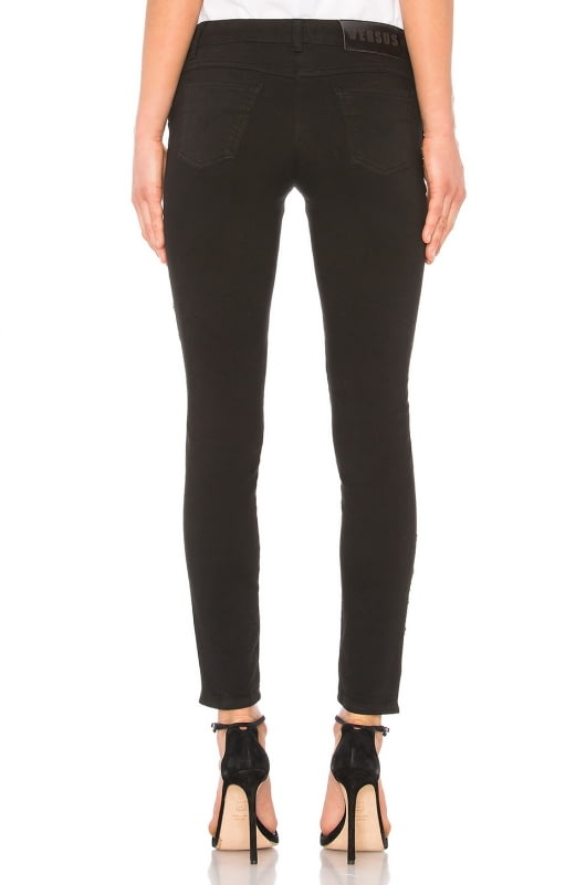 Versus by Versace Lace Up Jean
