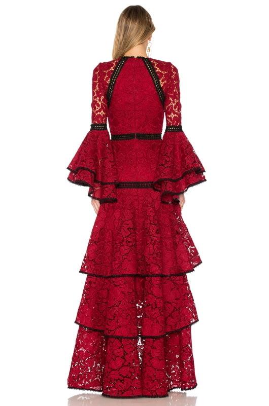 Alexis Laurel Lace Gown