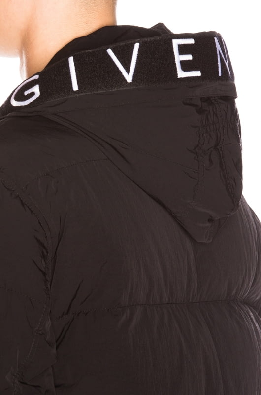 Givenchy Hooded Down Puffer Jacket