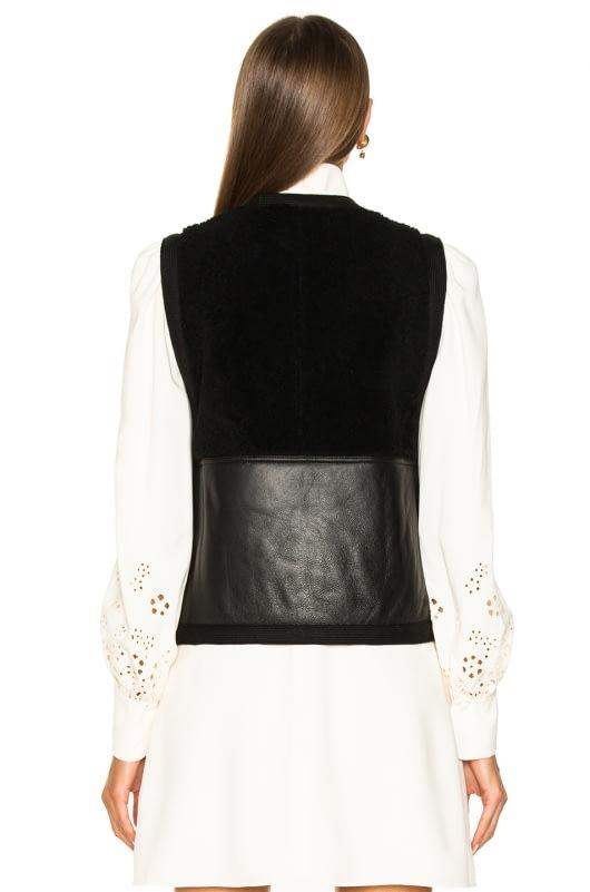 Chloe Reversible Shearling Vest