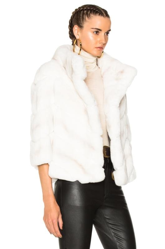 Yves Salomon Rex Quarter Sleeve Jacket
