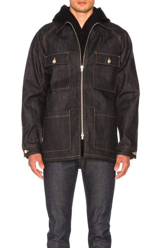 Fear of God Selvedge Denim Long Jacket
