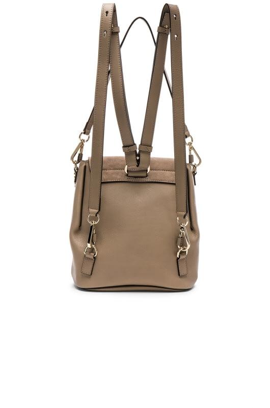 Chloe Small Faye Suede & Calfskin Backpack