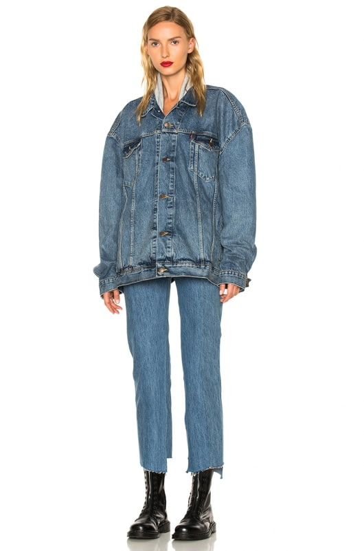 VETEMENTS x Levis Classic Reworked Denim