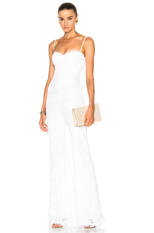 Houghton Bianca Wide Leg Fitted Jumpsuit