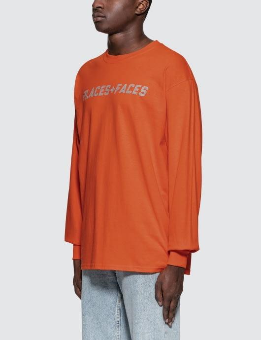 Places + Faces 3m Logo L/S T-Shirt