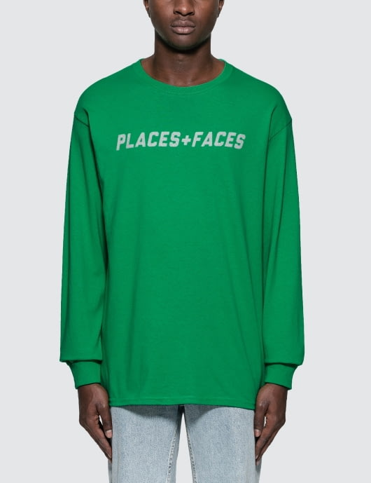 Places + Faces 3m Logo L/S T-Shirt