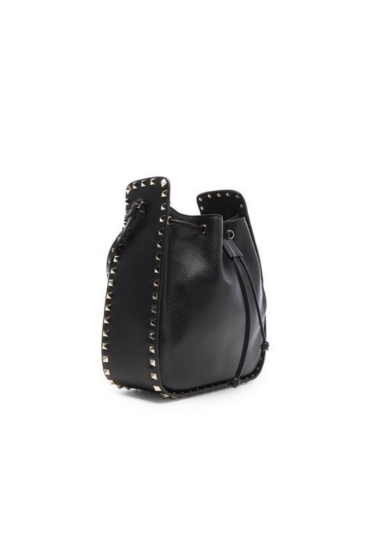 Valentino Rockstud Large Bucket Bag