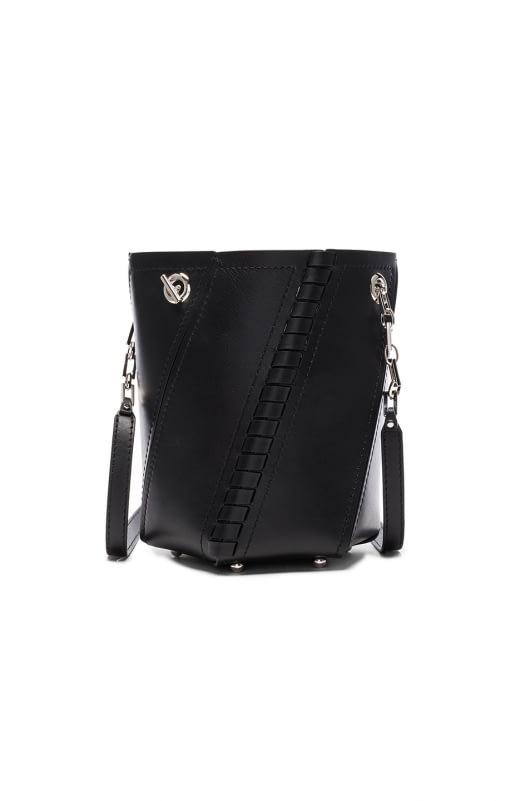 Proenza Schouler Crossbody Hex Bucket Whipstitch Leather