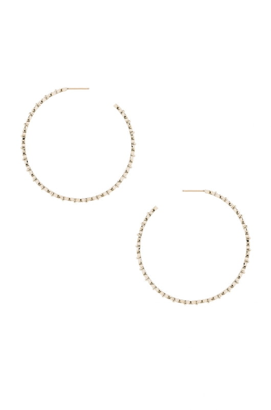 Stone Paris Yasmine Hoop Earrings