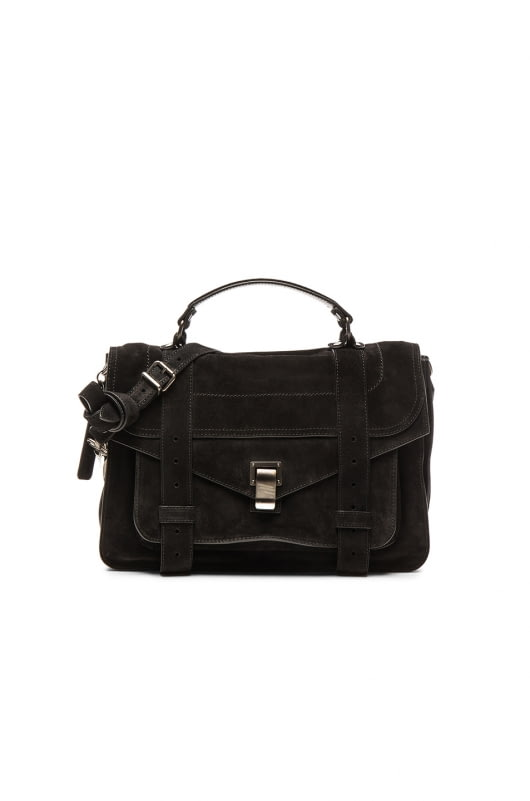 Proenza Schouler Medium PS1 Suede