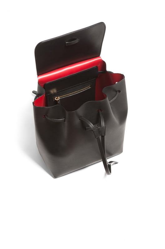 Mansur Gavriel Coated Mini Backpack