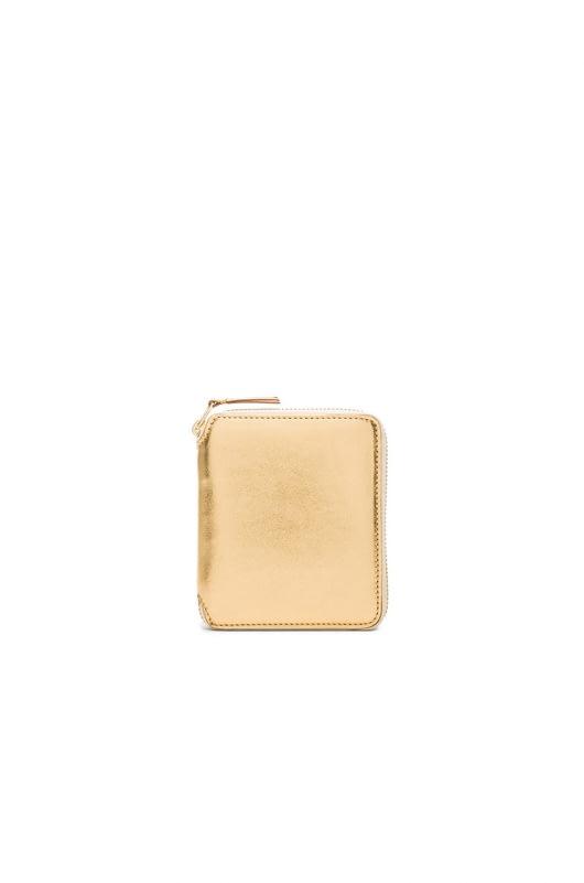 Comme Des Garcons Gold Line Zip Wallet