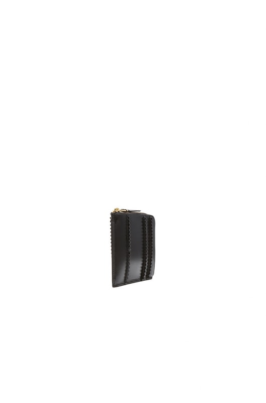 Comme Des Garcons Raised Spike Small Zip Wallet