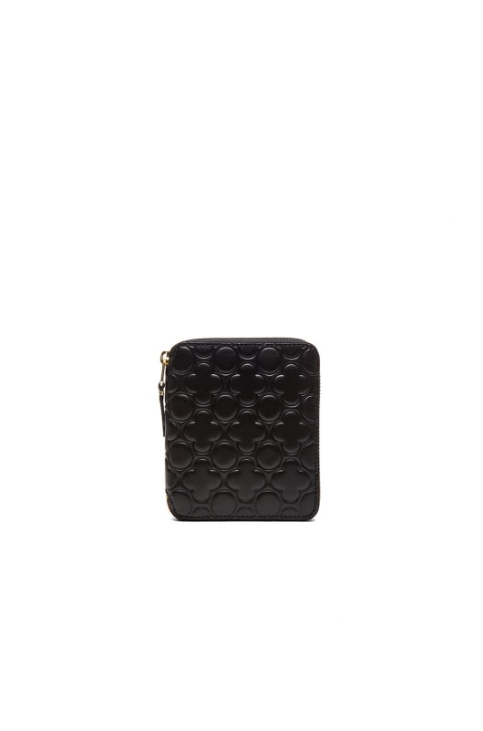 Comme Des Garcons Star Embosed Classic Wallet