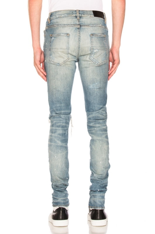 Amiri Art Patch Painted Jean