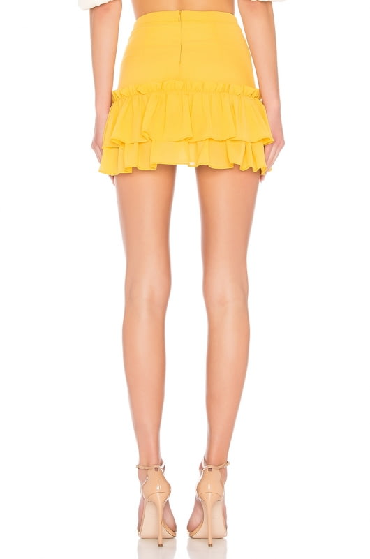LPA Two Tier Ruffle Skirt