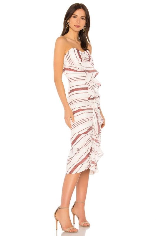 C/MEO On Her Own Midi Dress