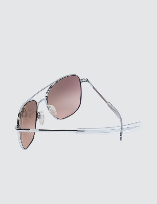 RANDOLPH Aviator with Sahara Metallic Nylon AR Lens (45th Anniversary)