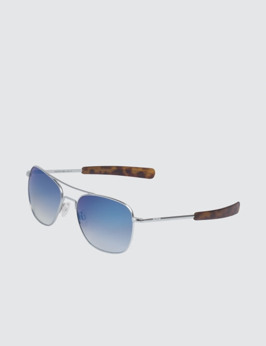 RANDOLPH Aviator with Oasis Metallic Nylon AR Lens (45th Anniversary)