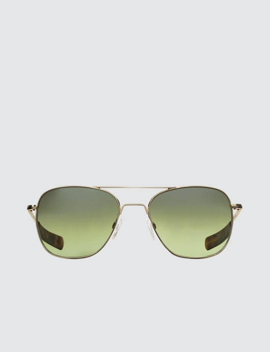 RANDOLPH Aviator with Jade Metallic Nylon AR Lens (45th Anniversary)