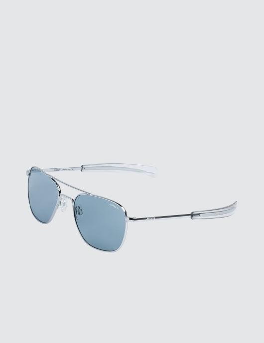 RANDOLPH Aviator with Blue Lens