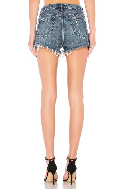 AGOLDE Parker Cut Off Shorts