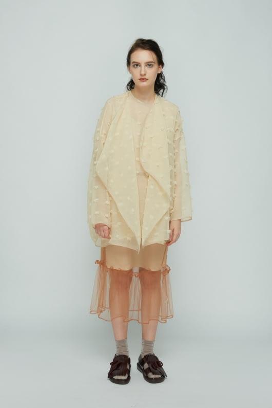Shopatvelvet Beige Keepers Outerwear