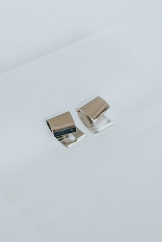 Shopatvelvet Silver Silverstone Earrings