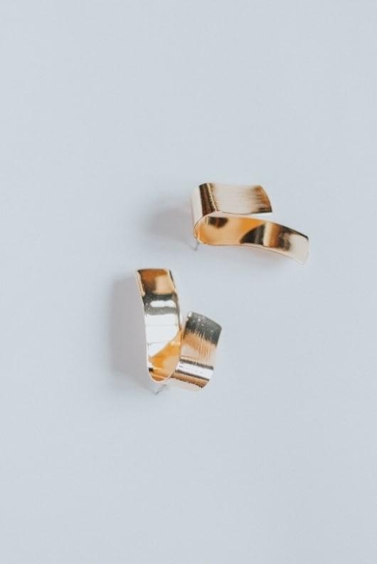 Shopatvelvet Gold Anthropology Earrings
