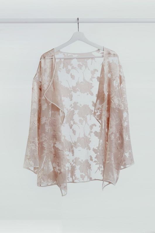 Shopatvelvet Dusty Pink Lilium Jacket