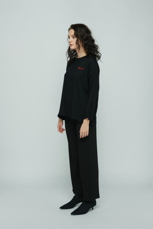 Shopatvelvet Black Heartbreaker Long Sleeve