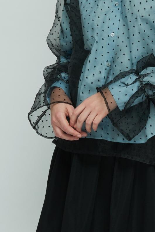 Shopatvelvet Black Poly Top