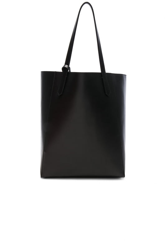 Givenchy Small Smooth Leather & Metallized Lining Stargate Tote