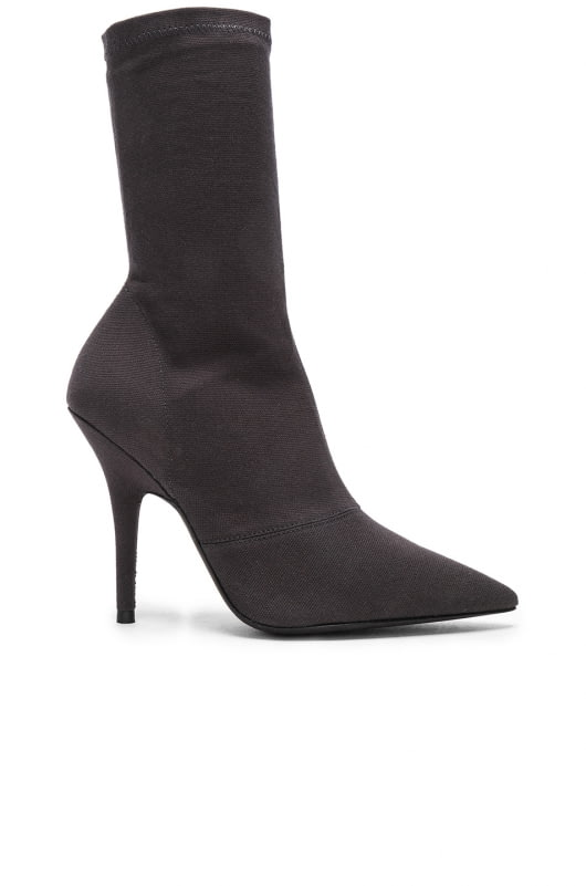 YEEZY Season 6 Stretch Canvas Ankle Boots